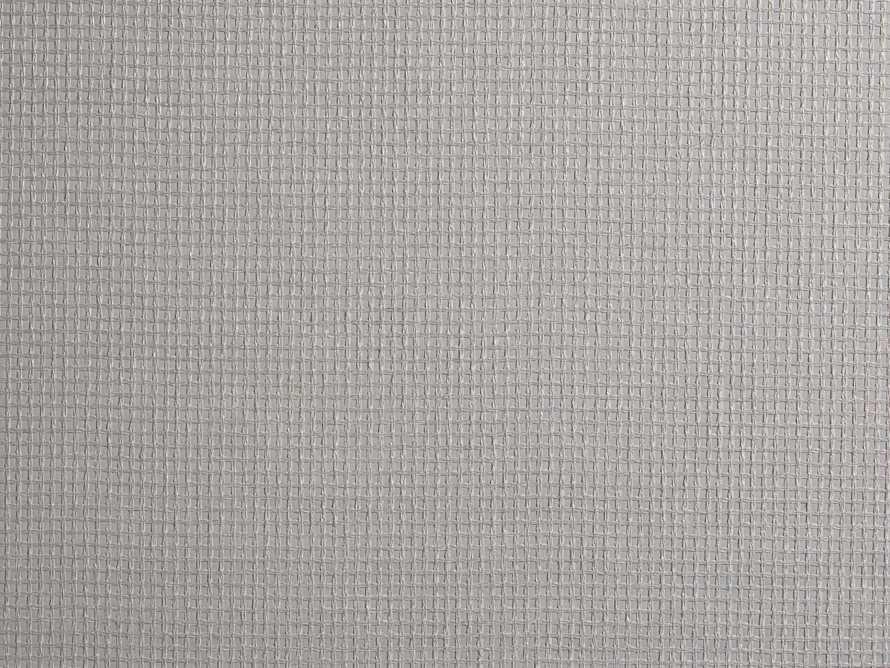 Lloyd Grasscloth Wallpaper in Grey, slide 2 of 2