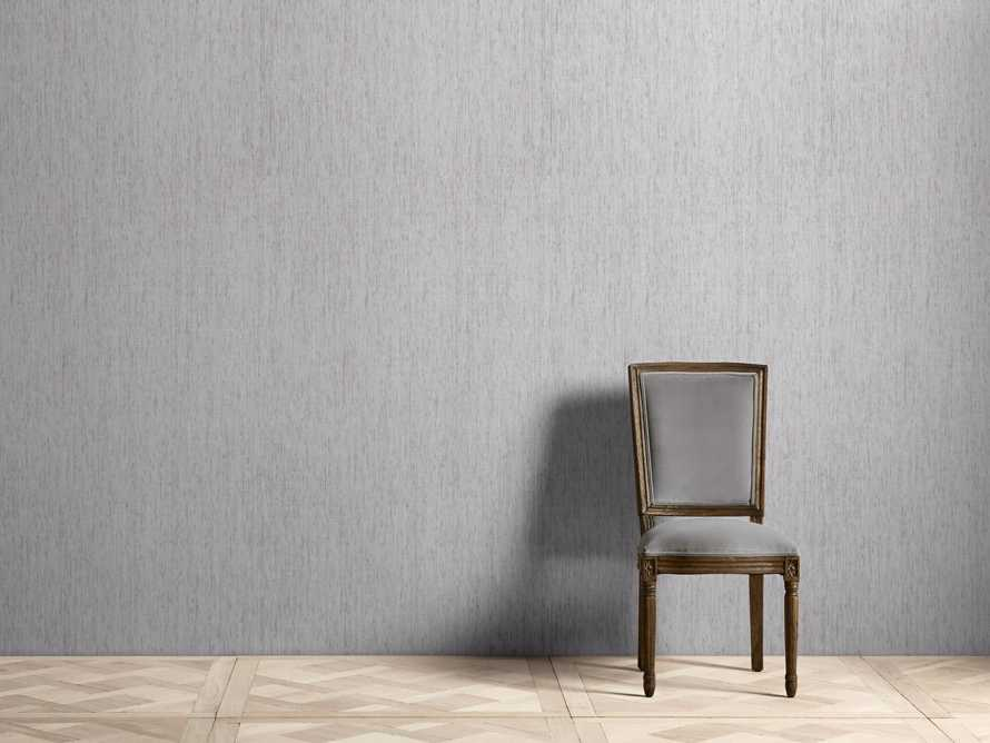 Leno Grasscloth Wallpaper in Ivory