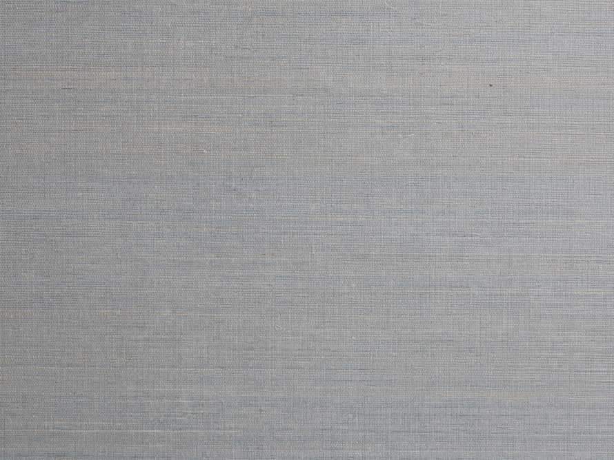 Farah Grasscloth Aqua Wallpaper, slide 2 of 2