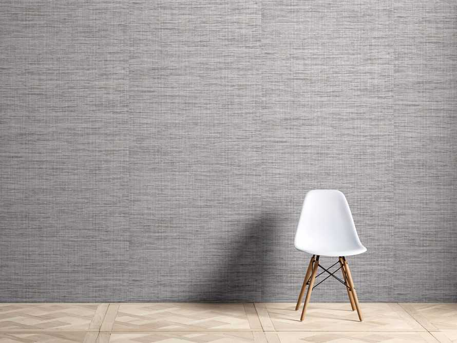 Griffin Grasscloth Wallpaper in Grey, slide 1 of 2