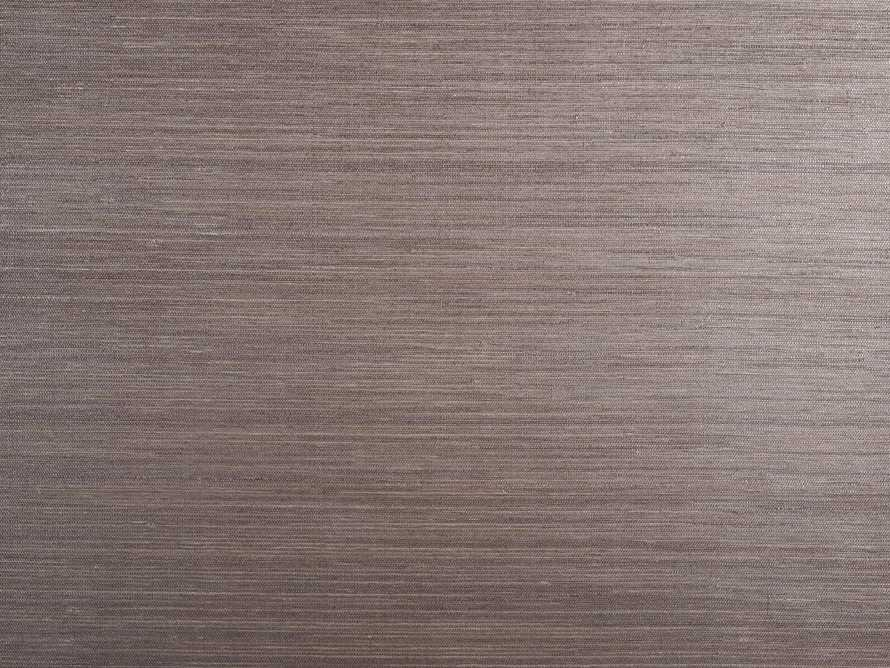 Zen Grasscloth Wallpaper in Bronze