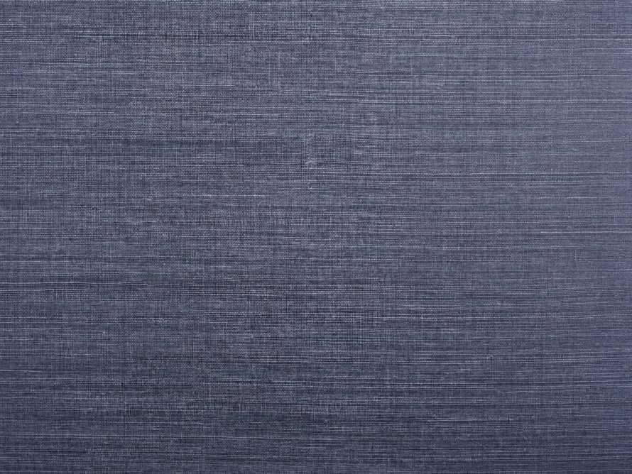 Cormic Grasscloth Wallpaper in Indigo