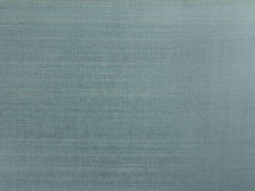 Remie Grasscloth Wallpaper in Teal, slide 2 of 3