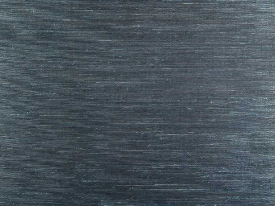 Andez Grasscloth Wallpaper in Marine, slide 2 of 2