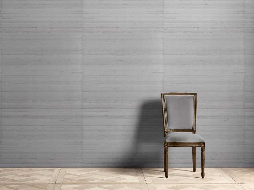 Lorenzo Silk Weave Wallpaper in Grey, slide 1 of 2