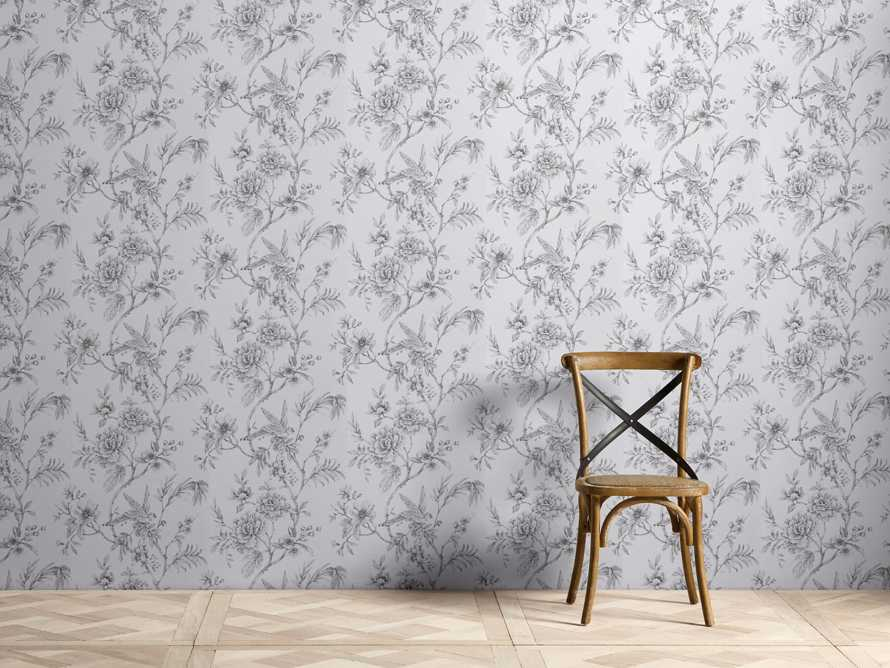 Sanctuary Wallpaper in Grey