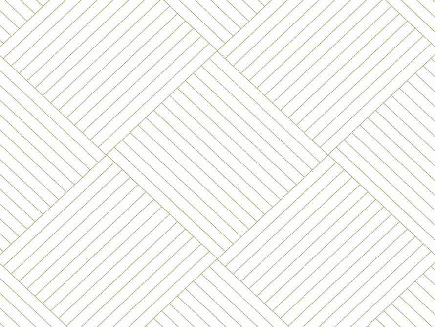 Basketweave Wallpaper in White & Gold, slide 2 of 2