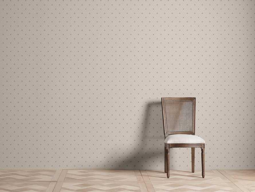 Arietta Wallpaper in Taupe, slide 1 of 2