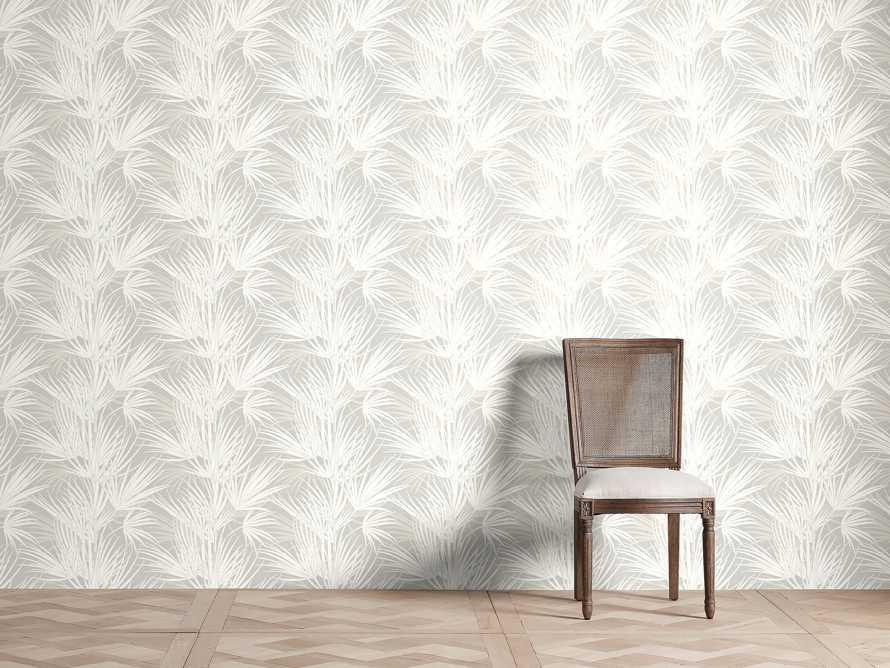 Bermuda Wallpaper in White & Grey, slide 1 of 2