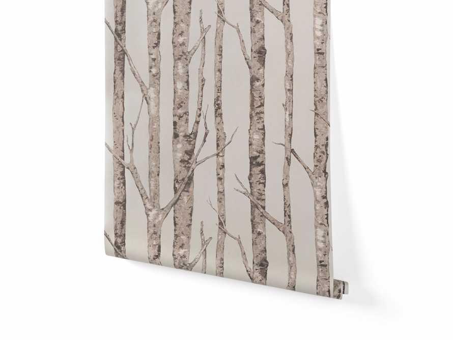 Arboretum Wallpaper in Silver