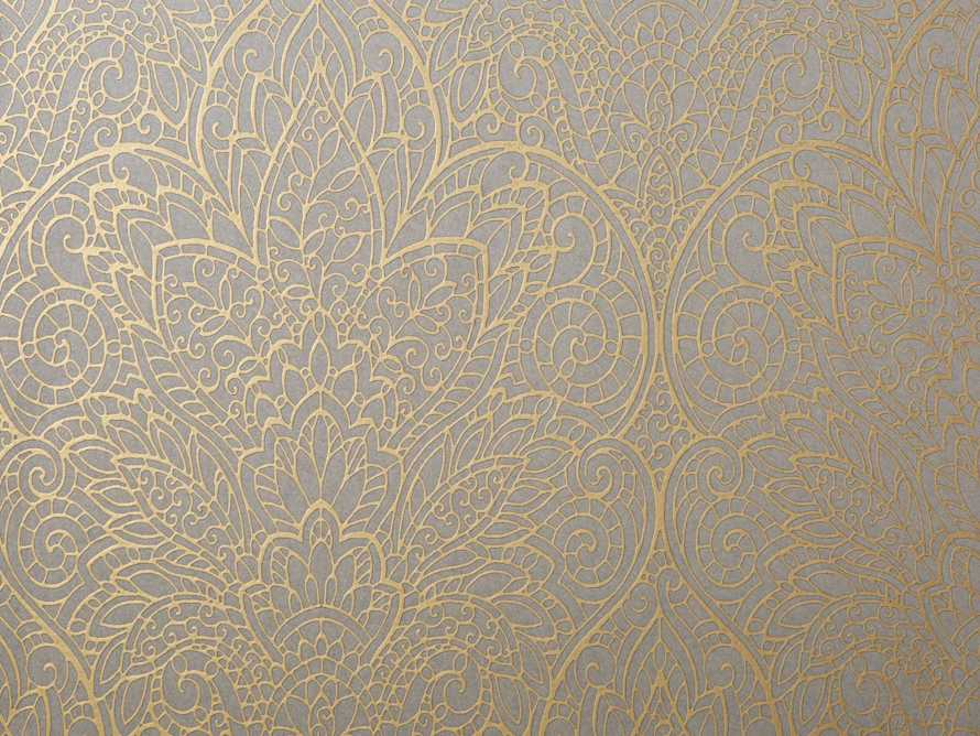 Victorian Romance Wallpaper in Grey