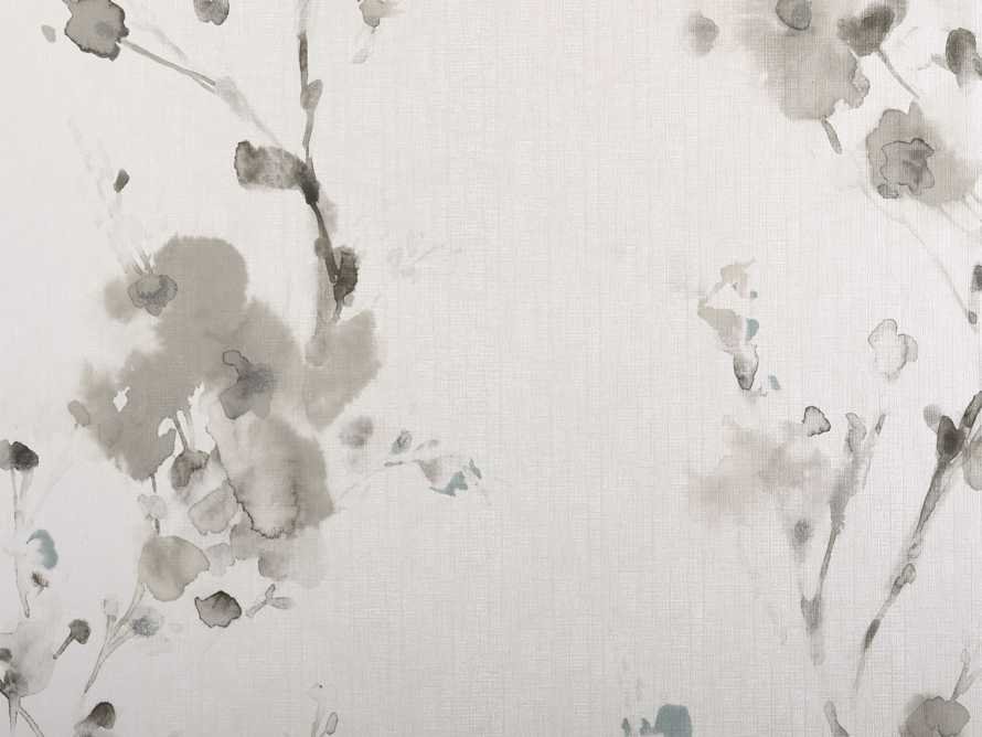 Blurred Poppies Wallpaper In Grey