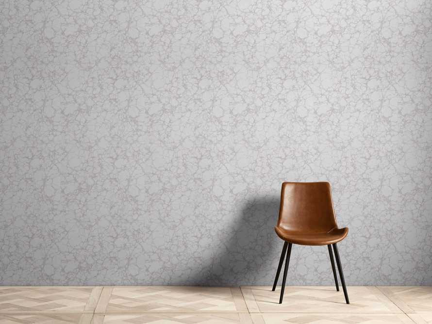 Cararra Marble Wallpaper in Grey, slide 1 of 2