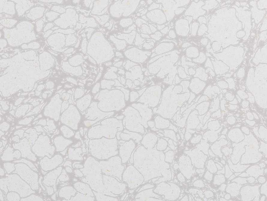 Cararra Marble Wallpaper in Grey, slide 2 of 2