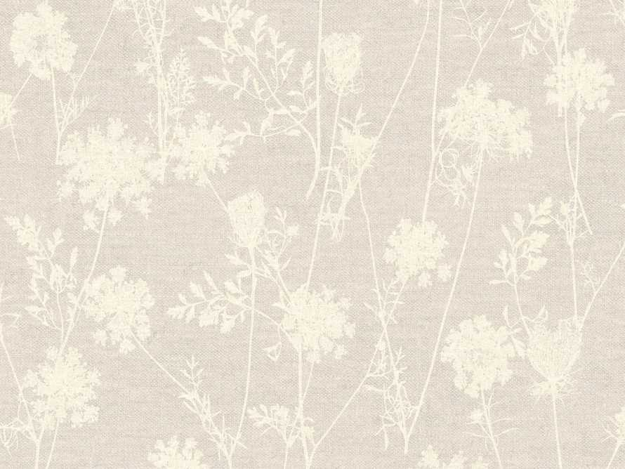 Ethereal Linen Wallpaper in Taupe, slide 1 of 1