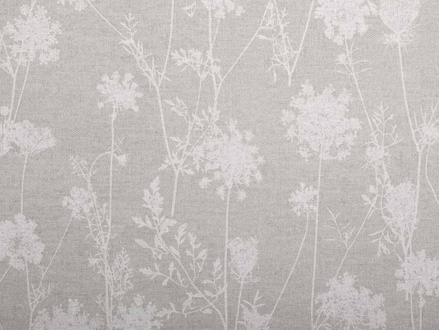 Ethereal Linen Wallpaper in Grey, slide 2 of 2