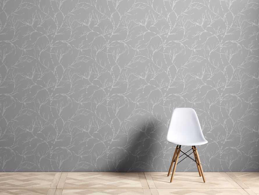 Weeping Vines Wallpaper in Light Grey, slide 1 of 2