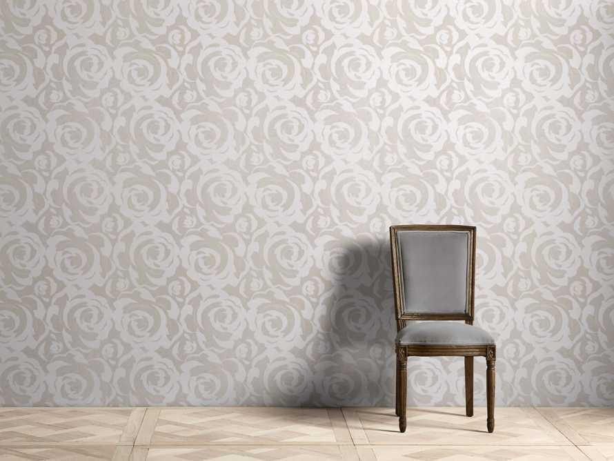 Perfect Petals Wallpaper in Silver, slide 1 of 2
