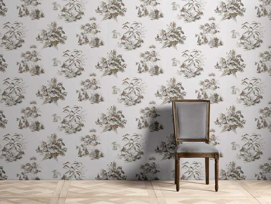 Tranquility Wallpaper in Beige