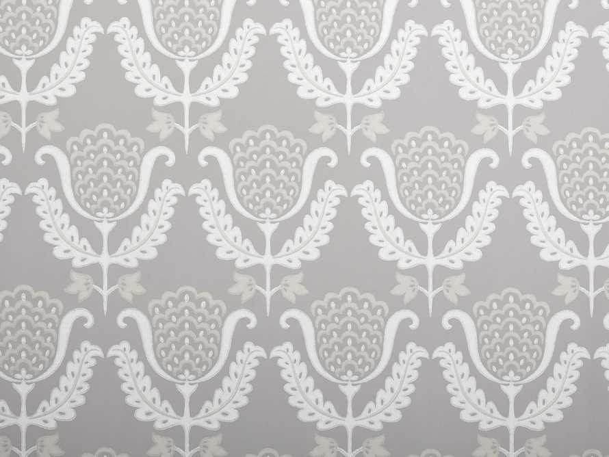 Felecity Wallpaper in Beige, slide 2 of 2