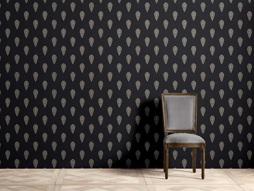 Golden Buta Wallpaper Arhaus Furniture