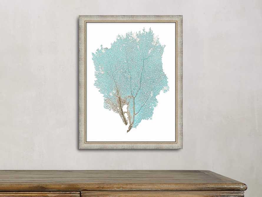 Blue Coral Framed Print #1