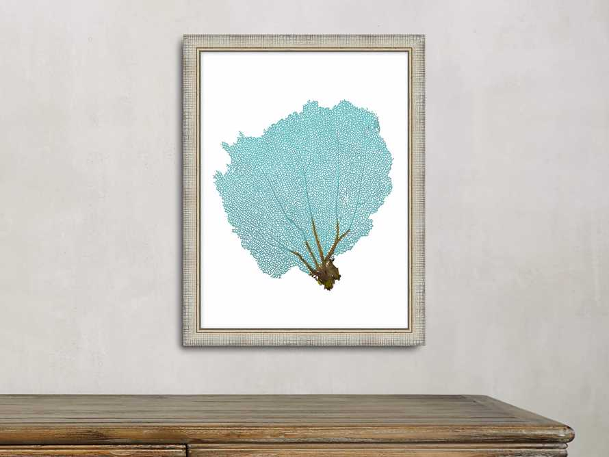 Blue Coral Framed Print #2
