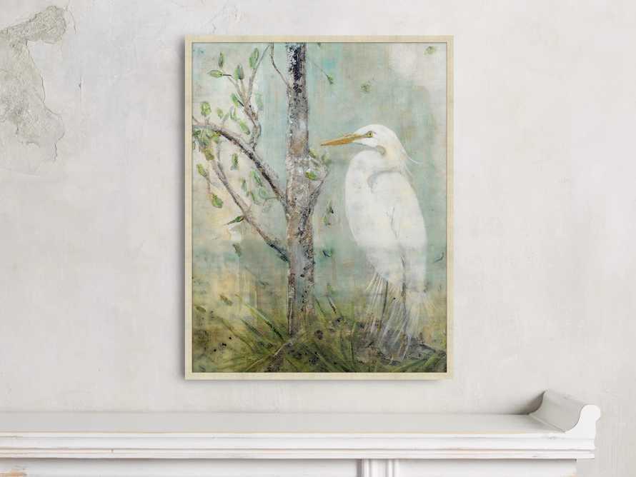 "Coastal Heron 22"" X 28"" Framed Print 2"