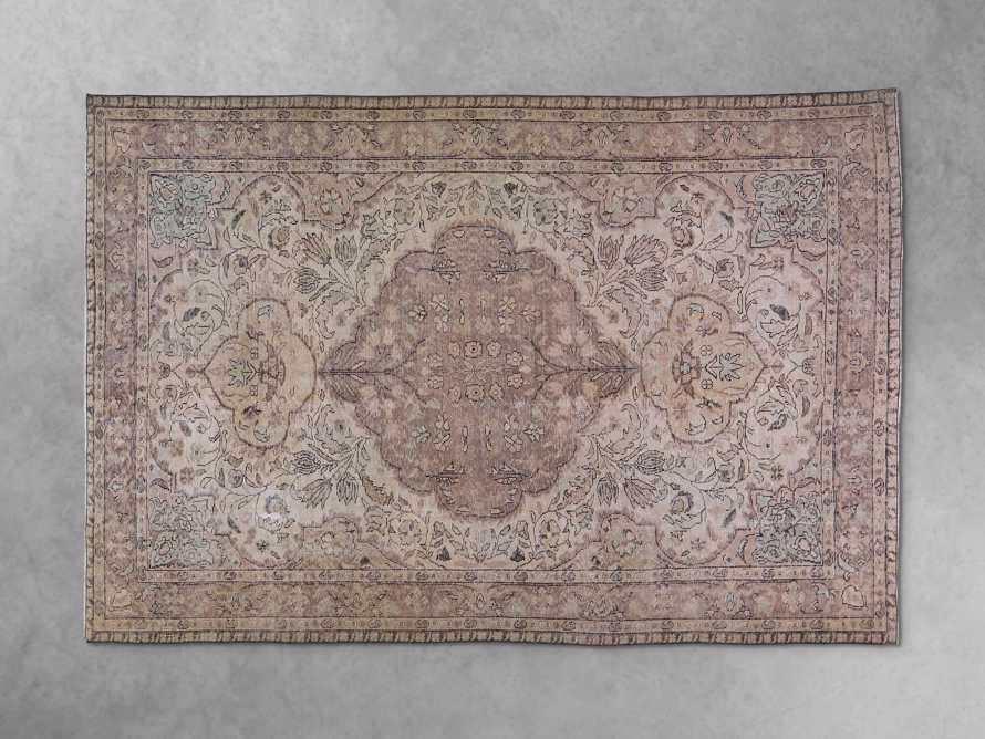 "One of a Kind 6'4"" x 9'8""' Vintage Turkish Rug"