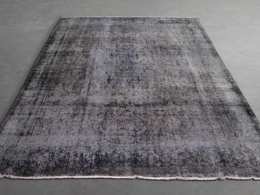 """One of a Kind 9'4"""" x 12'7"""" Vintage Persian Rug"""