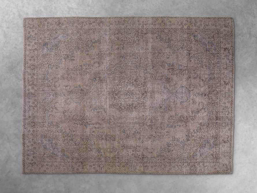 """One of a Kind 8' 10"""" x 12' 10"""" Vintage Persian Rug"""
