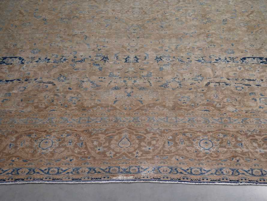 "One of a Kind 9'2"" x 12'6"" Vintage Persian Rug"