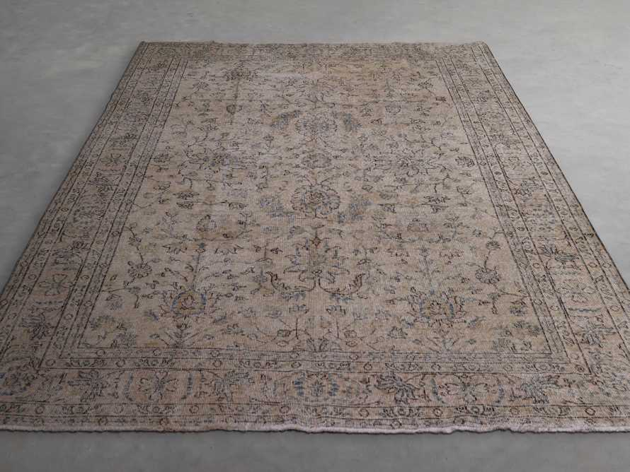 """One of a Kind 6'10"""" x 10'3"""" Vintage Persian Rug"""