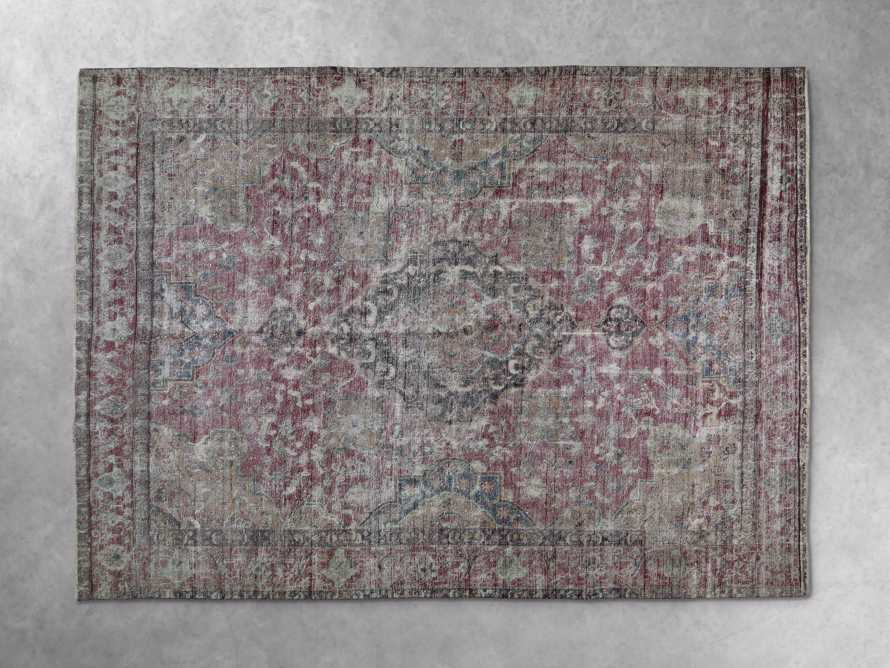 "One of a Kind 9'1"" x 12'7"" Vintage Persian Rug"