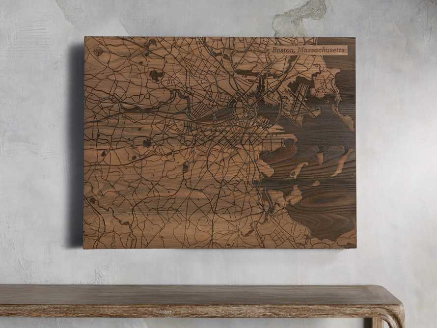 "36"" Boston Street Map"