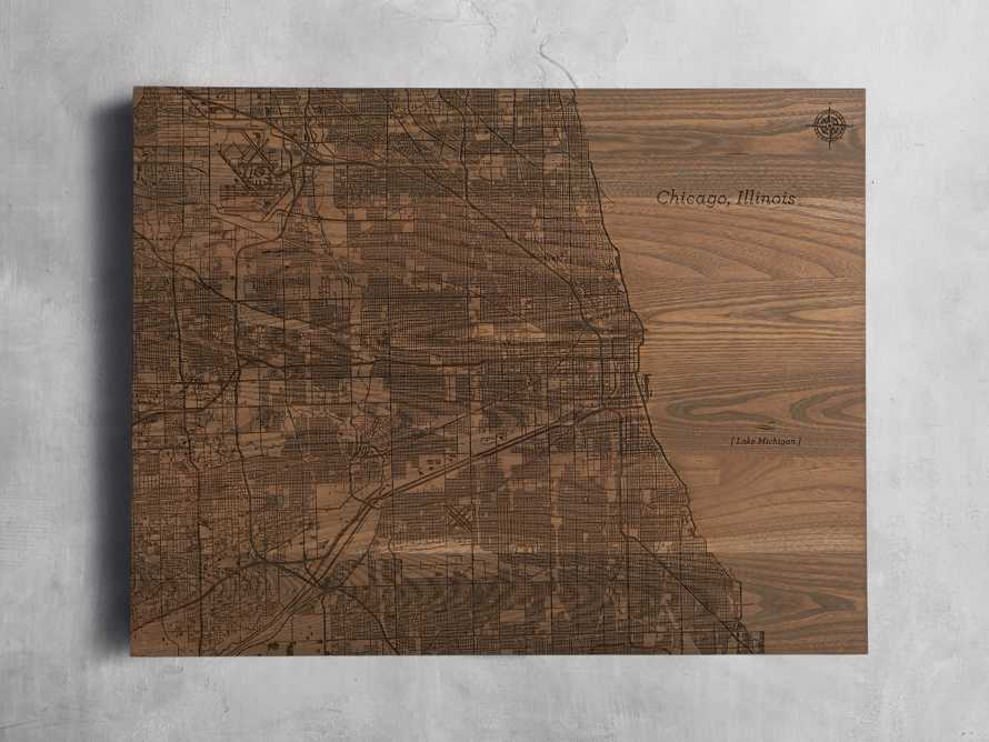 "36"" Chicago Street Map"