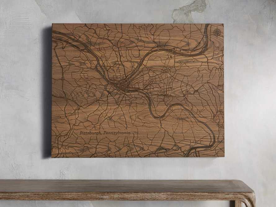 "36"" Pittsburgh Street Map"
