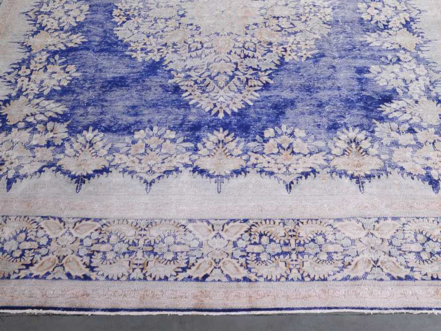 "One of a Kind Vintage Persian 9'5"" x 12'10"" Rug"