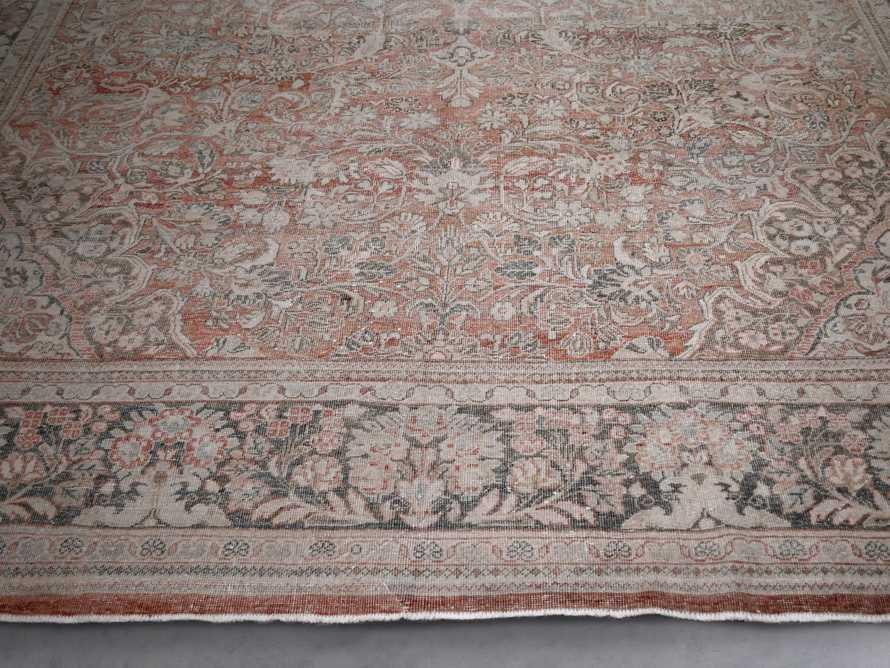 "One of a Kind 10'3"" x 14'6"" Vintage Persian Rug, slide 2 of 3"