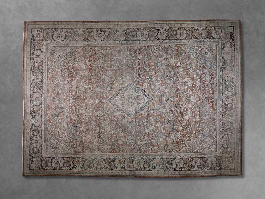 "One of a Kind 10'3"" x 14'6"" Vintage Persian Rug, slide 3 of 3"