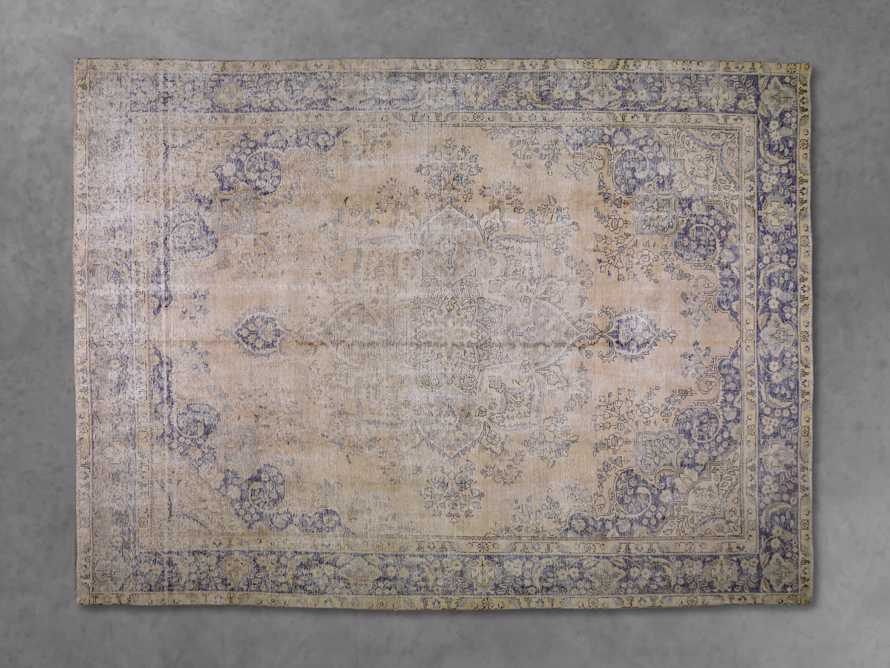 """One of a Kind 9'10"""" x 12'8"""" Vintage Persian Rug"""