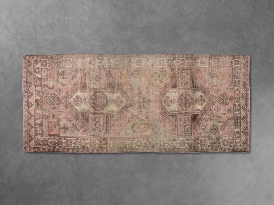 """One of a Kind 5'6"""" x 12' Vintage Turkish Oushak Rug, slide 2 of 3"""