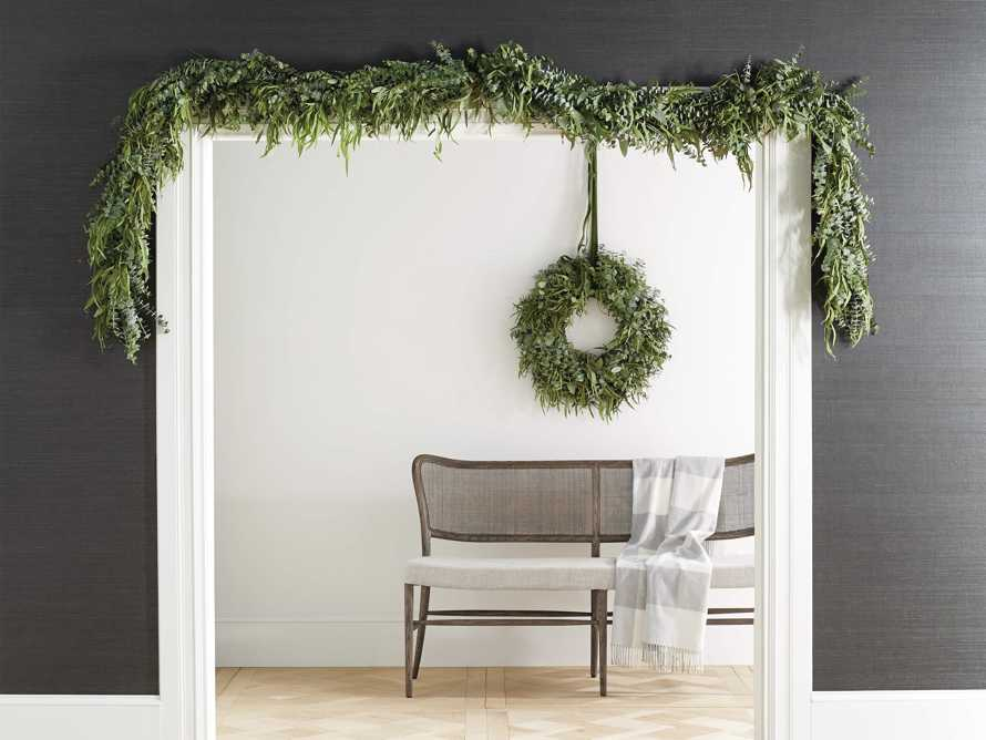 Fresh Mixed Eucalyptus Garland, slide 3 of 3