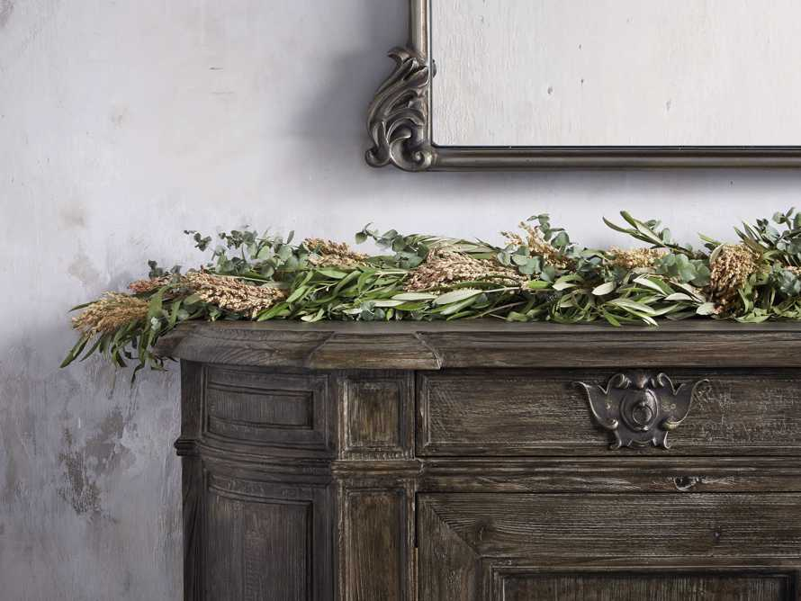 Fresh Olive & Eucalyptus Garland, slide 2 of 4