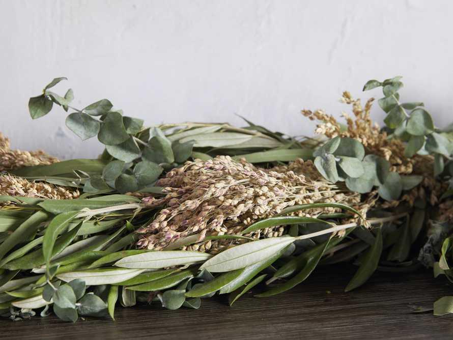 Fresh Olive & Eucalyptus Garland, slide 3 of 4