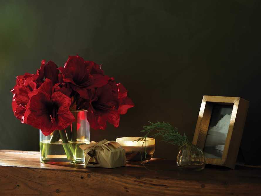"Faux Garden Amaryllis Vase 14"", slide 3 of 3"