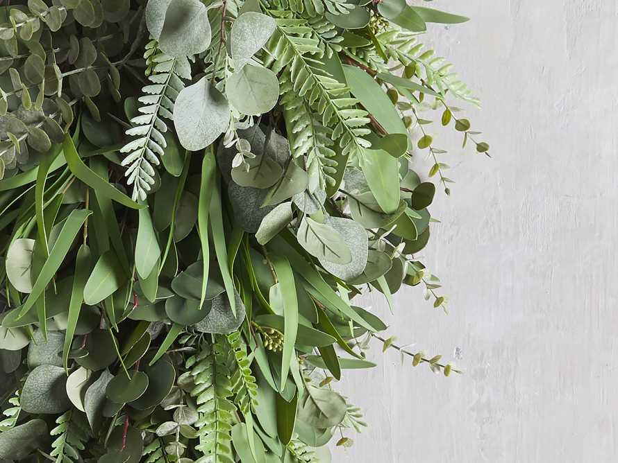"""Faux Eucalyptus Grand Teardrop 36"""", slide 2 of 3"""