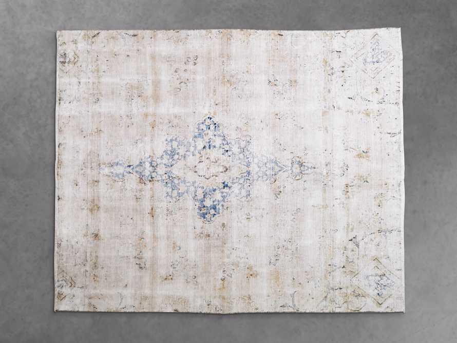 "One of a Kind 6' x 7'5"" Vintage Persian Rug, slide 2 of 4"