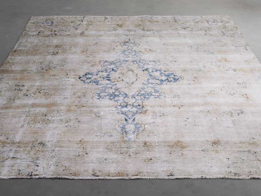 "One of a Kind 6' x 7'5"" Vintage Persian Rug, slide 3 of 4"
