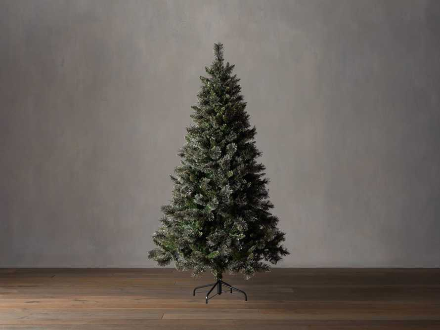 7.5' Pre-Lit Glitter Cashmere Tree, slide 2 of 4